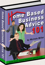 Home Based Business Advice Book Graphic